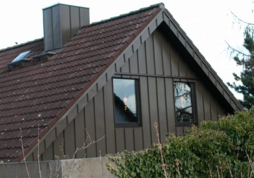 fassadenverkleidung pieger dach. Black Bedroom Furniture Sets. Home Design Ideas